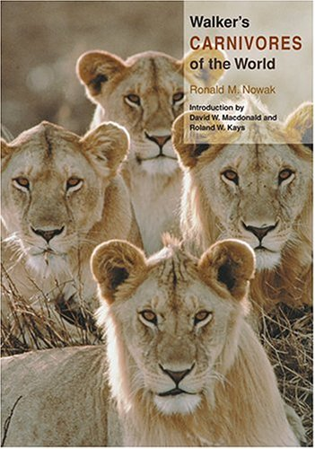 9780801880322: Walker's Carnivores of the World