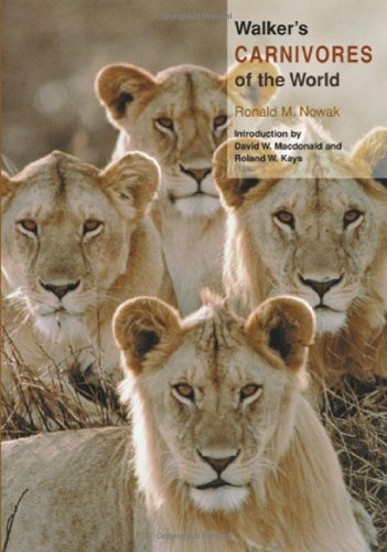 9780801880339: Walker's Carnivores of the World