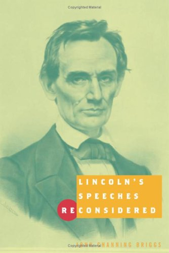 Lincoln's Speeches Reconsidered: Briggs, John Channing