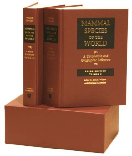 9780801882210: Mammal Species of the World : A Taxonomic and Geographic Reference, 2-volume set