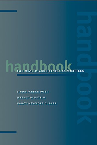 9780801884481: Handbook for Health Care Ethics Committees