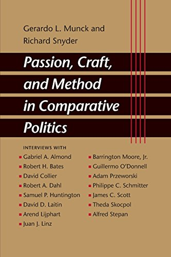 9780801884641: Passion, Craft, and Method in Comparative Politics