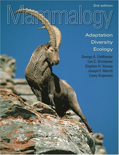 9780801886959: Mammalogy: Adaptation, Diversity, Ecology