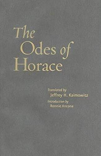 9780801889950: The Odes of Horace (Johns Hopkins New Translations from Antiquity)