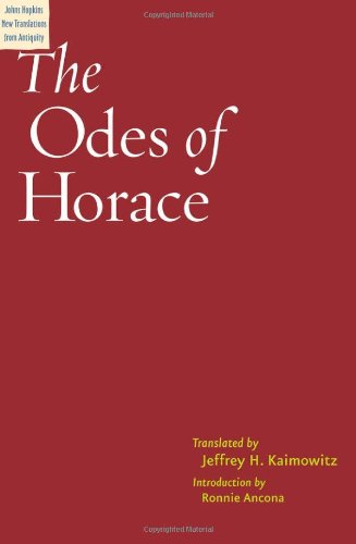 9780801889967: The Odes of Horace (Johns Hopkins New Translations from Antiquity)