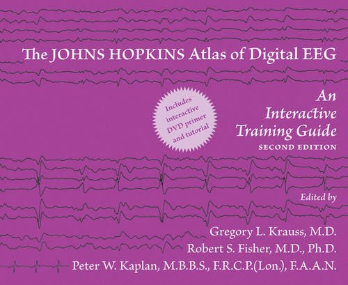 9780801897337: The Johns Hopkins Atlas of Digital EEG: An Interactive Training Guide