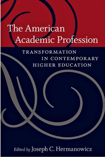 9780801899782: The American Academic Profession: Transformation in Contemporary Higher Education