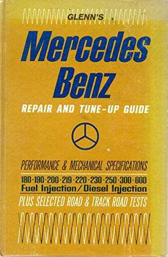 9780801950841: Mercedes-Benz Repair and Tune-up Guide