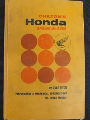 Chilton's Honda Repair and Tune-Up Guide.: Ocee Ritch