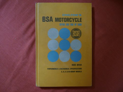 9780801953033: BSA Motor Cycle Repair and Tune-up Guide