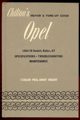 9780801956348: Chilton's repair and tune-up guide for the Opel