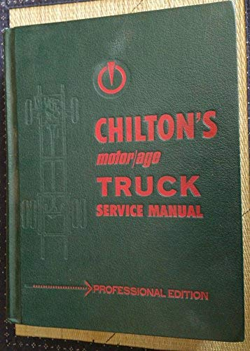 Chilton's truck repair manual (light and medium trucks) (0801956498) by Chilton Book Company