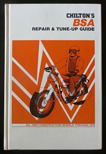 9780801957130: Chilton's new repair and tune-up guide: BSA