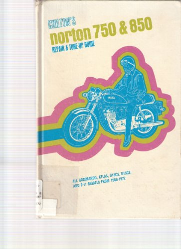 9780801958168: Chilton's New Repair and Tune-Up Guide: Norton 750 & 850