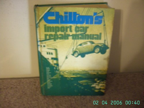 chilton s import car repair manual 2nd edition chilton book co rh abebooks com Chilton Auto Parts Eve Chilton