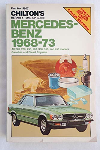 9780801959073 repair and tune up guide for mercedes benz 1968 73 rh abebooks co uk Local Mercedes Repair Shops Local Mercedes Repair Shops