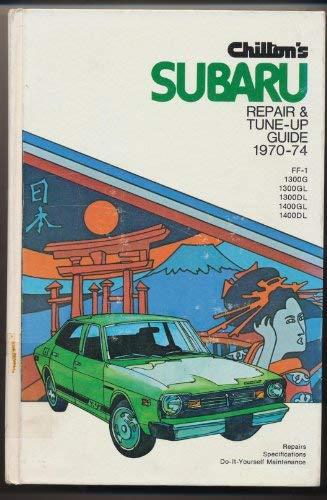 Chilton's repair and tune-up guide: Subaru (0801959772) by Chilton Book Company