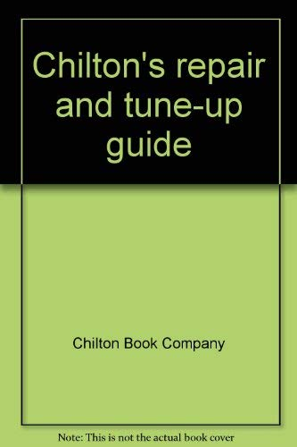 9780801960161: Chilton's repair and tune-up guide: Maverick and Comet