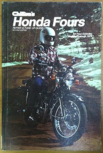 9780801960307: Repair and Tune-up Guide for Honda Fours 1974: All Four-cylinder Models