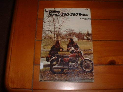 9780801960383: Chilton's Repair and Tune-Up Guide, Honda 350/360 Twins