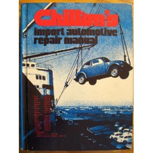 Import Automotive Repair Manual (0801962579) by Chilton's
