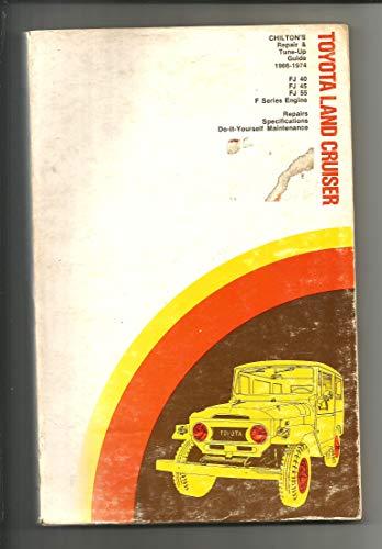 9780801962769: Repair and Tune-up Guide for Toyota Land Cruiser: FJ40, FJ45, FJ55, F Series Engines