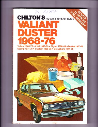 9780801963261: Repair and Tune-up Guide for Valiant Duster 1968-76