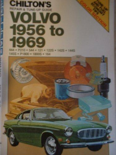 Chilton's Repair and Tune-Up Guide: Volvo, 1956-1969: Chilton Book Company