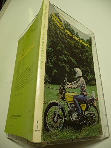 9780801966033: Chilton's repair and tune-up guide, Honda 350-550 fours, 1971-77