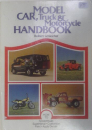 9780801966262: Model Car, Truck and Motorcycle Handbook