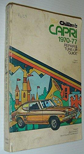 9780801966958: Repair and Tune-up Guide for Capri 1970-77