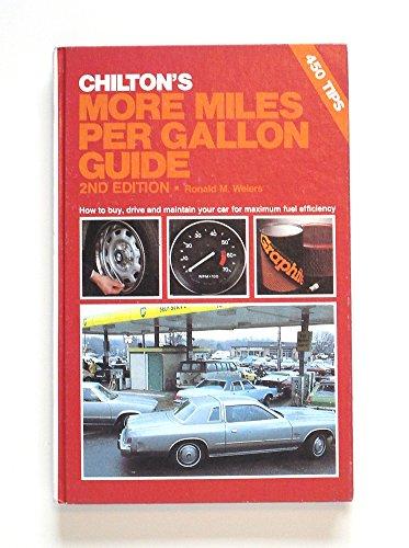 9780801969072 Le Chiltons More Miles Per Gallon Guide