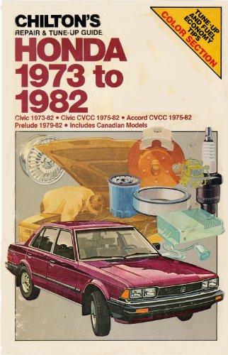 Chilton's Repair & Tune-Up Guide Honda 1973