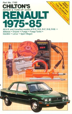 Renault, 1975-85 (Chilton's Repair & Tune-Up Guides) (0801975611) by Chilton