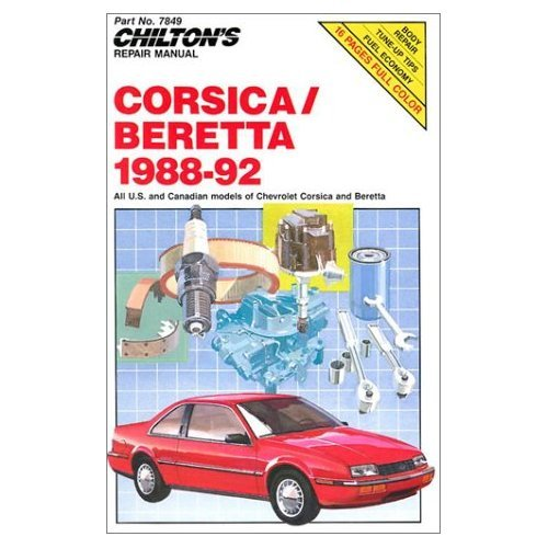9780801978494: Repair and Tune-up Guide for Corsica/Beretta 1988