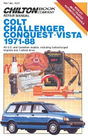 9780801979408: Colt/Challenger/Vista 1971-88 (Chilton Model Specific Automotive Repair Manuals)