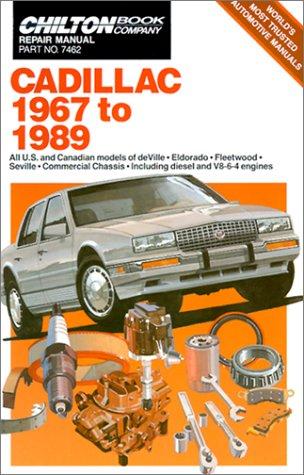 9780801979439: Cadillac 1967-89 (Chilton Book Company Repair Manual)
