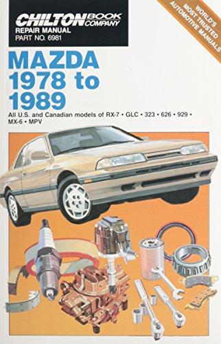Chilton Book Company Repair Manual: Mazda, 1978: Chilton