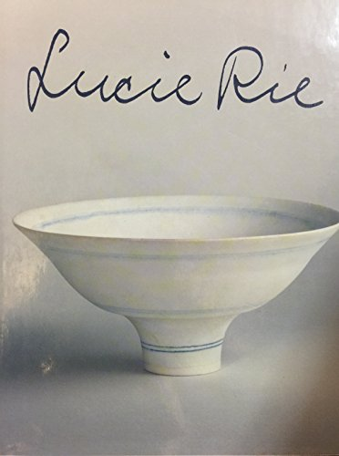 Stock image for Lucie Rie for sale by Trip Taylor Bookseller
