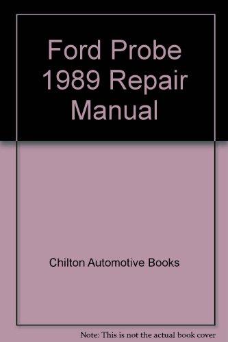 9780801980121: Ford Probe 1989 Repair Manual