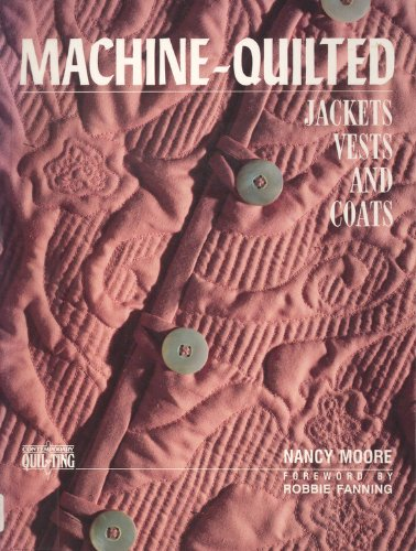 9780801981173: Machine-Quilted Jackets, Vests, and Coats (Contemporary Quilting)