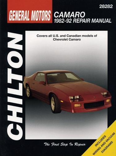 9780801982606: GM Camaro, 1982-92 (Chilton Total Car Care Series Manuals)