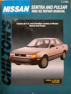 Nissan Sentra Pulsar 1992 (Chilton's Total Car Care) (0801982634) by Chilton
