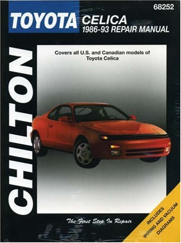 9780801984136: Toyota Celica, 1986-93 (Chilton Total Car Care Series Manuals)