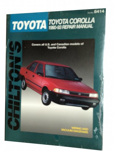 9780801984143: Toyota Corolla 1990-93 (Chilton's total car care)