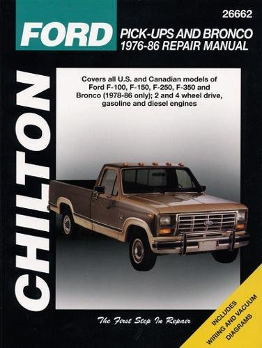 9780801985768: Ford Pick-Ups and Bronco, 1976-86 (Chilton total car care)