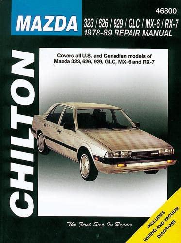 Mazda 323, 626, 929, GLC, MX-6, and: Chilton