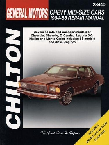 9780801985942: GM Chevrolet Mid-Size Cars, 1964-88 (Chilton Total Car Care Series Manuals)