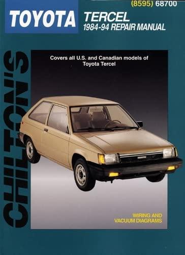 9780801985959: Toyota Tercel, 1984-94 (Total Car Care)