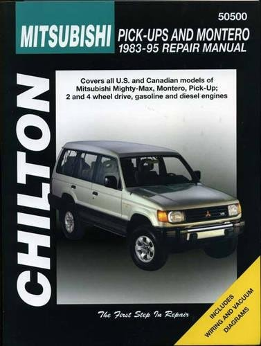 Mitsubishi Pick-ups and Montero, 1983-95 (Haynes Repair Manuals): Chilton